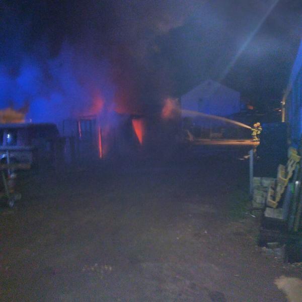 2017-25-03 Garagenvollbrand